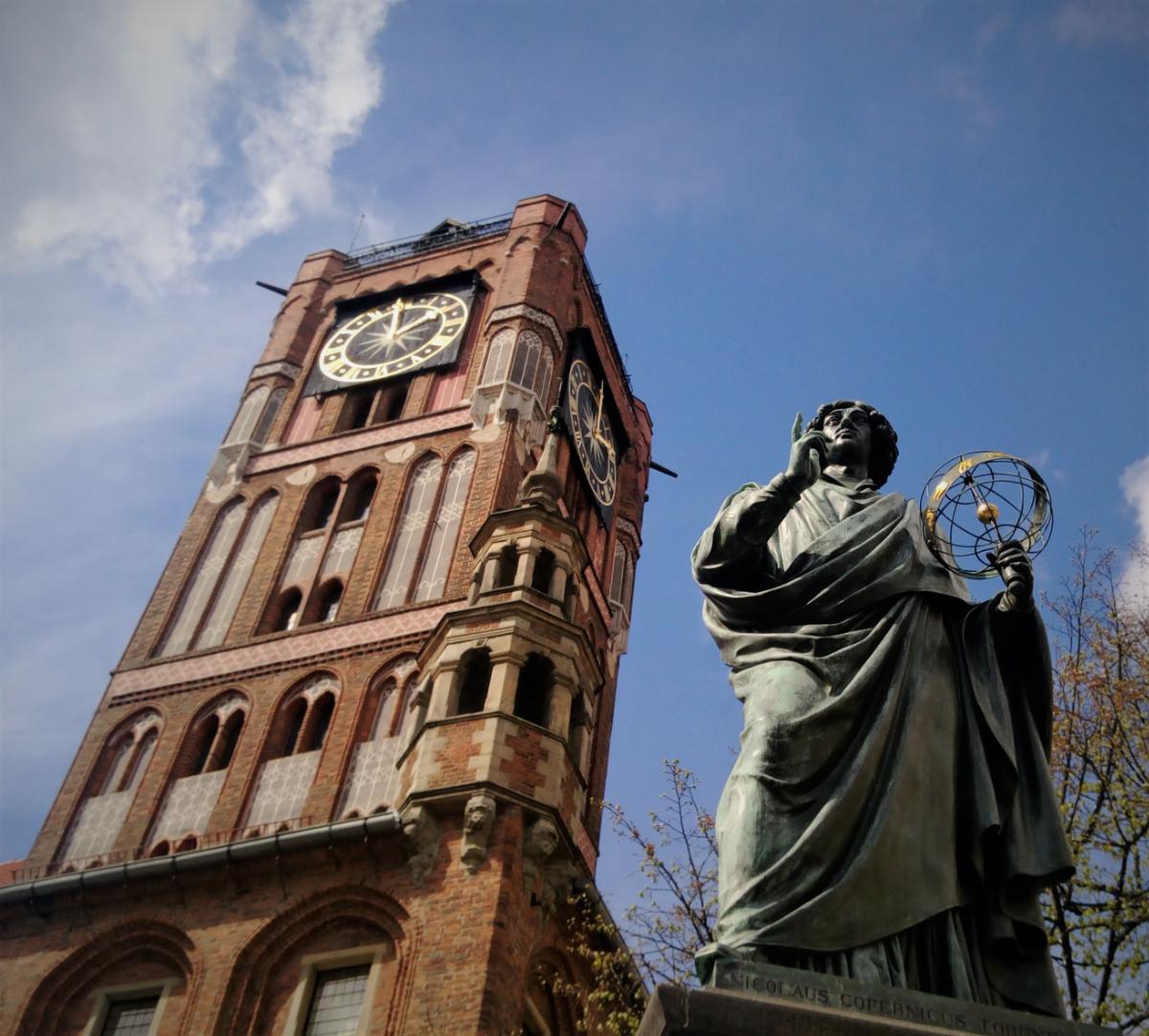 Oprowadzanie po mieście Toruń